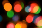 colourful bokeh light effect created in camera