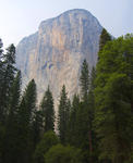 Spectacular 1000 metre vertical rock outcrop in the Yosemite valley, Yosemite National Park, California, USA